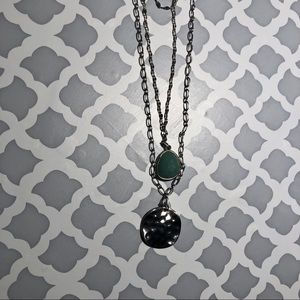 torrid Jewelry - NWT Torrid Silvertone 3 chain layered necklace